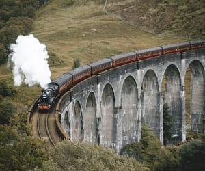 scotland, train, and écosse image