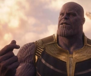 Marvel and thanos image