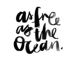 quotes, ocean, and free image