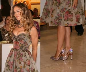 Carrie Bradshaw, sarah jessica parker, and shoes image