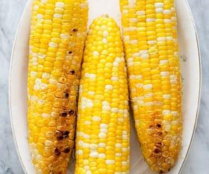 corn, food, and sweetcorn image