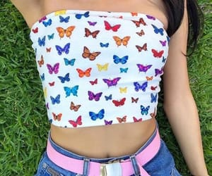 aesthetic, fashion, and butterfly image