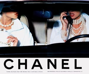 chanel, vintage, and white image
