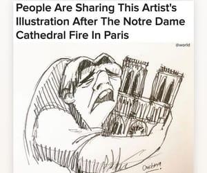 notre dame, paris, and cathédrale notre dame image