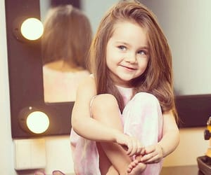 baby, hair, and little image