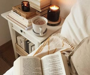book, reading, and candles image