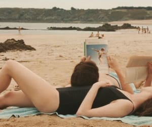 beach, movie, and one day image