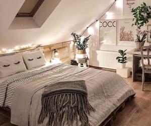 home, bedroom, and minimalist image