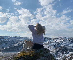 blonde, free, and hiking image