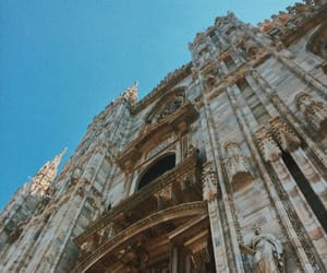 cathedral, milan, and photo image