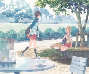 anime, yui, and official art image