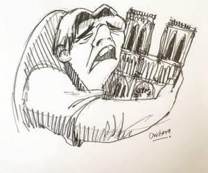 france, notre dame, and paris image