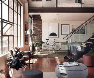 bike, nyc, and interior image