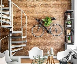 bike, interior, and loft image