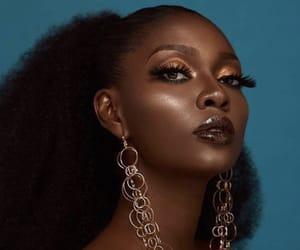 beauty, natural hair, and black woman image
