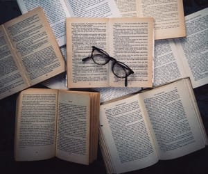 book, reading, and books image