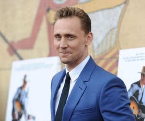 handsome, smile, and tom hiddleston image