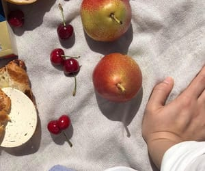 cherries, croissant, and explore image