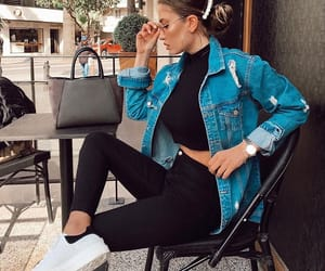 bun, clothes, and fashion image