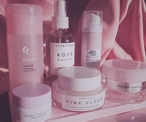 skincare, glossier, and aesthetic image