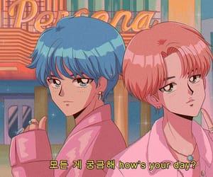 anime, korean, and bangtan image