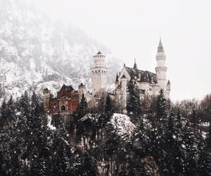 aesthetic, castle, and hill image