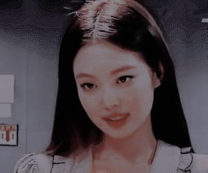 aesthetic, jennie, and gif image