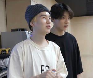 bts, min yoongi, and jeon jungkook image