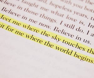 book, highlight, and quotes image