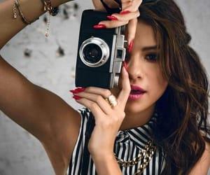 camera, selena gomez, and photograph image