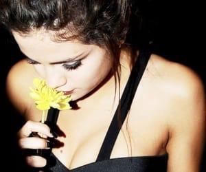 flower, selena gomez, and flowers image