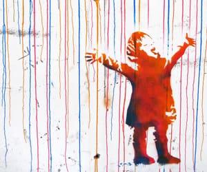 art, BANKSY, and street art image