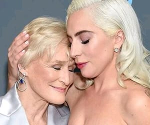 glenn close and Lady gaga image