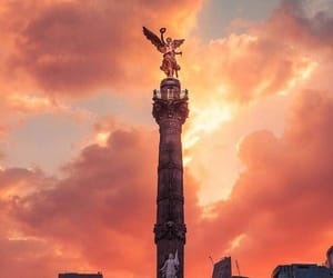 mexico, angel, and cdmx image