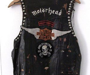 motorhead, rock, and leather image