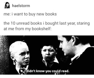 books, draco malfoy, and funny image