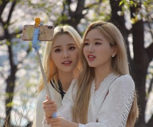 jinsoul, loona, and gowon image