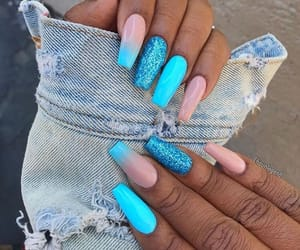 nails, beauty, and beautiful image