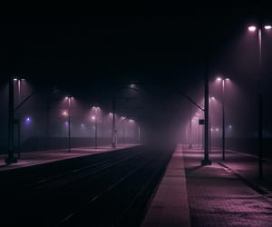 night, photography, and purple image