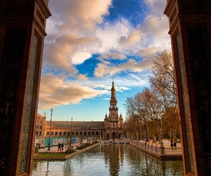 places, sevilla, and spain image
