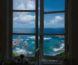 sea and window image