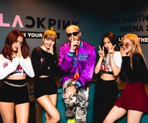 blackpink, dj snake, and in your area los angeles image