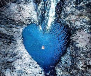 nature, travel, and heart image