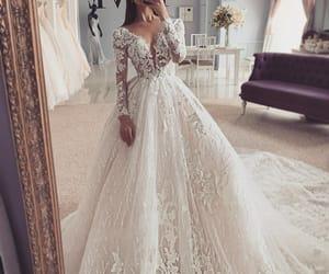 beauty, dress, and girl image