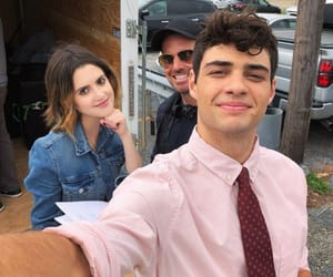 laura marano, noah centineo, and the perfect date image
