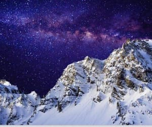 beautiful, mountains, and space image