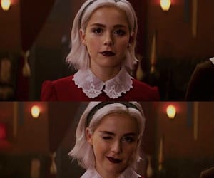 sabrina, series, and witch image