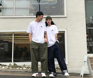 couple, korean, and kfashion image