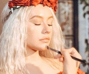 aesthetic, make up, and roses image