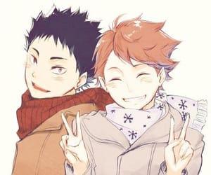 anime, han, and iwaizumi image